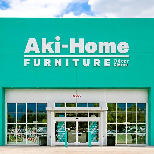 Aki-Home Ontario storefront