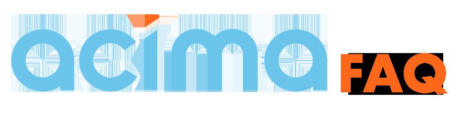 Acima FAQ Logo