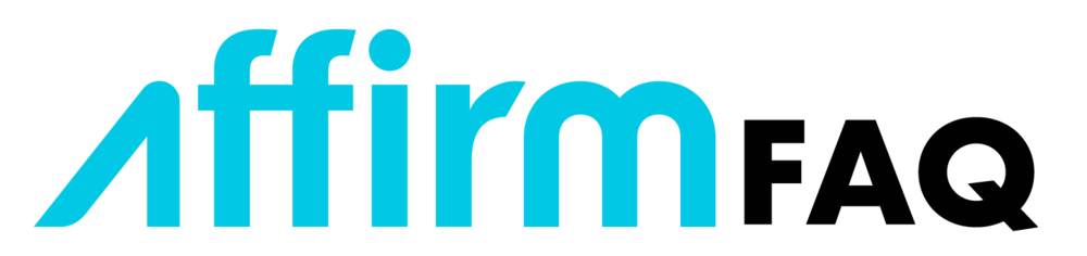 Affirm FAQ Logo