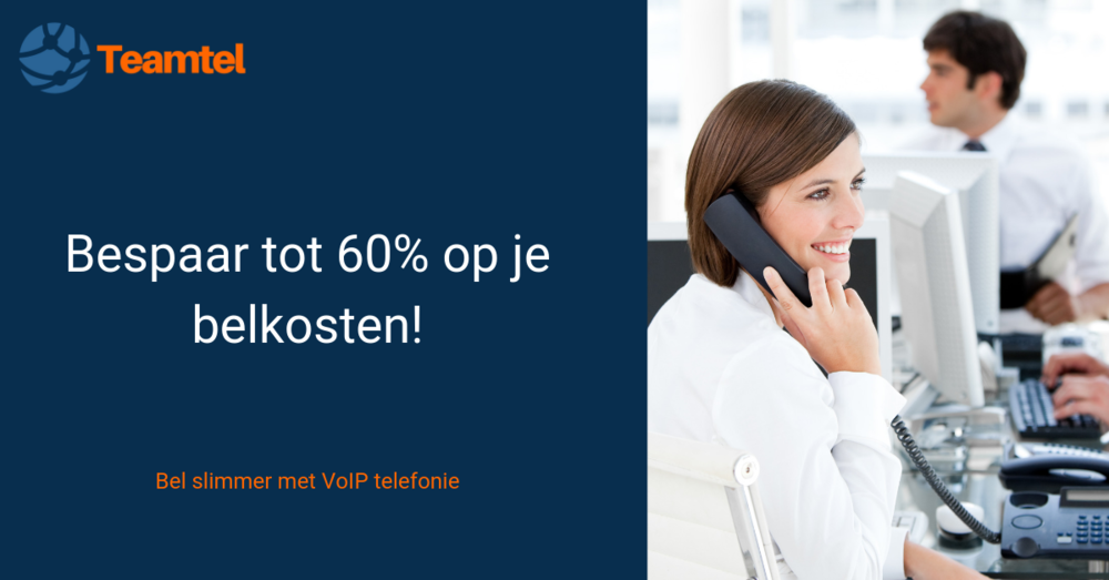Bel goedkoper met VoIP telefonie