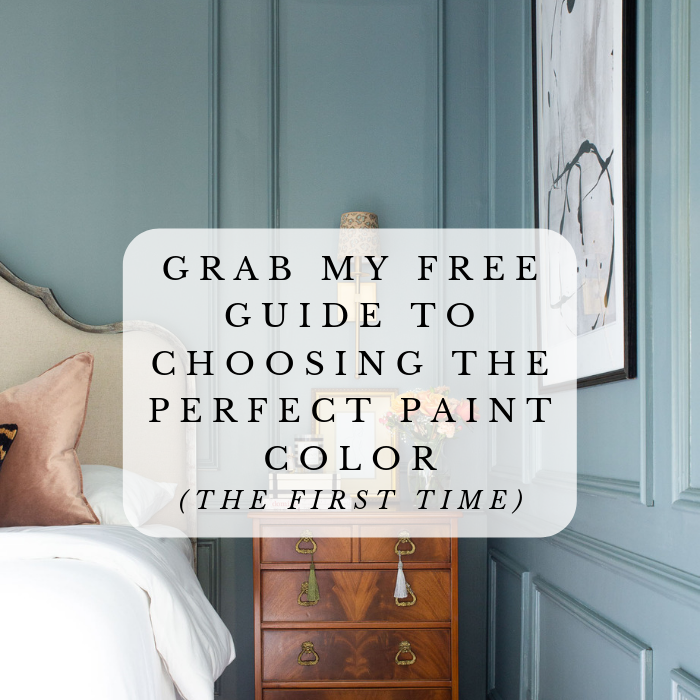guide to choosing the perfect paint color