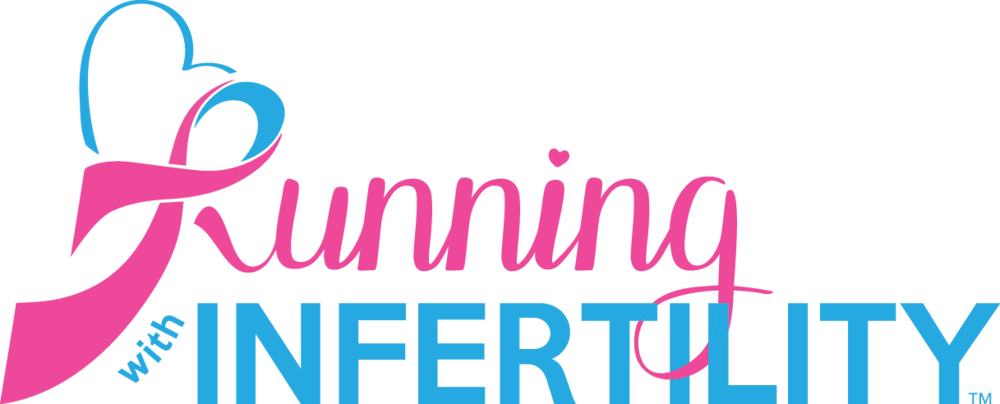 Running with infertility logo