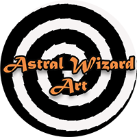Astral Wizard Art