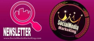 SocialMediaMarkeKing Newsletter - Zu jeder Zeit immer gut informiert sein!