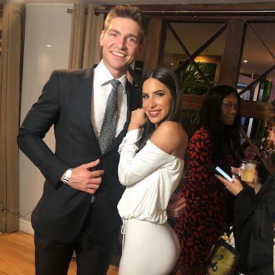@JeremyFragrance and @JenSelter at the Metropolitan Magazine Influencer Issue party sponsored by the Beauty Influencer Association in NYC, June 10, 2019