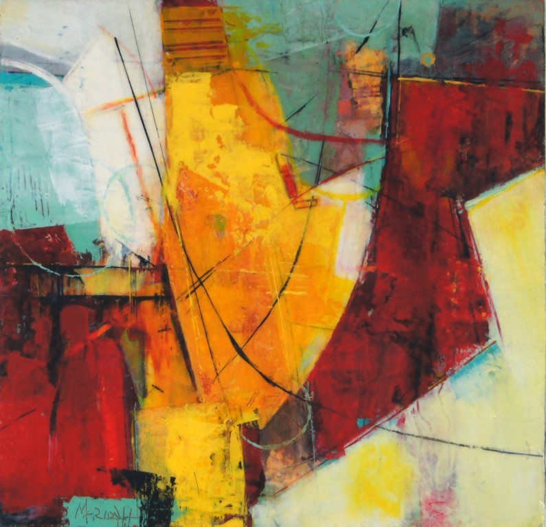 Abstract art by Marion Hedger