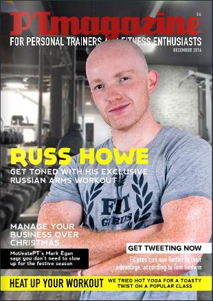russ howe pti PT magazine cover
