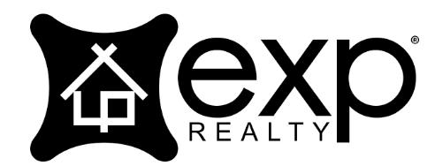 eXp Black Logo