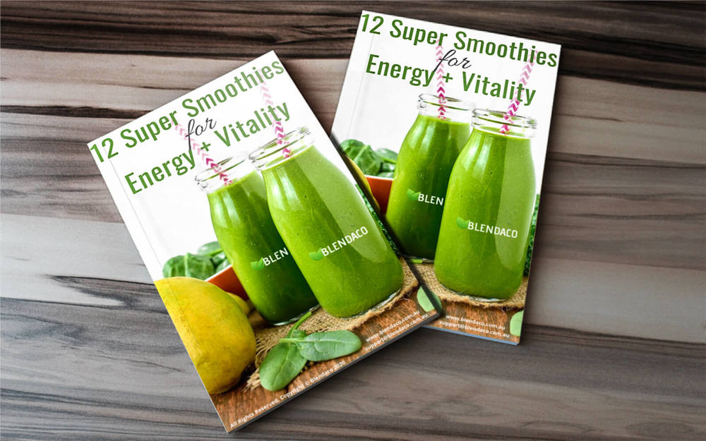 12 Super Smoothies for Energy & Vitality eBook