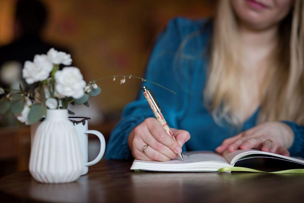 Intrepid Emma writing