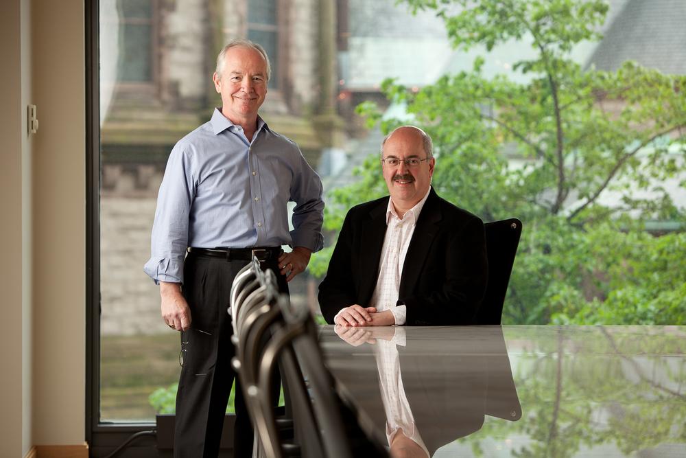 Bob Caulfield and Burt Visnick