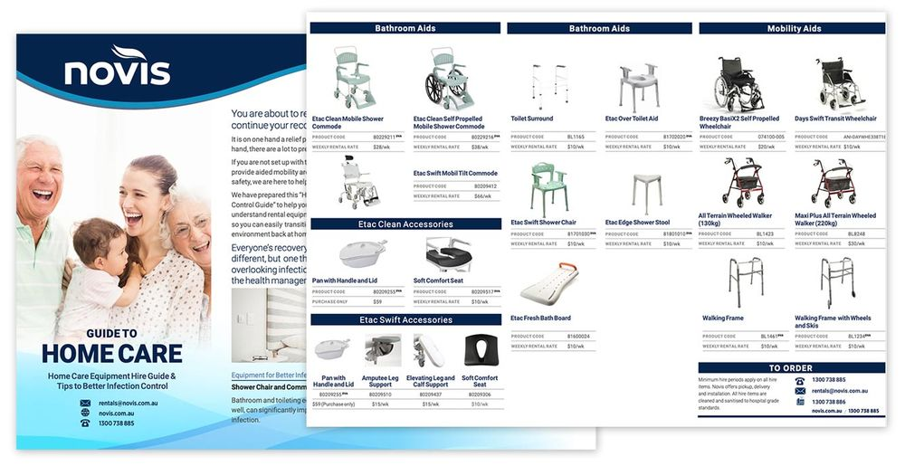 Home Care Rental Equipment Guide for OTs and Clients