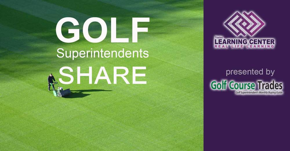 Golf Superintendents Share Facebook Page