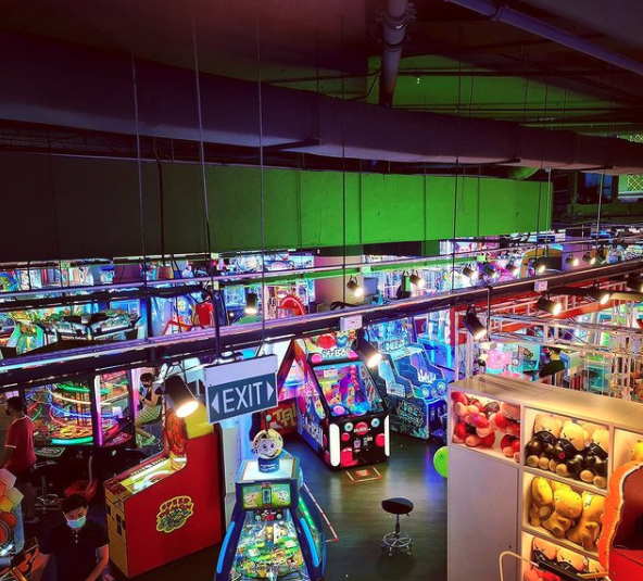 CowPlayCowMoo Arcade Singapore