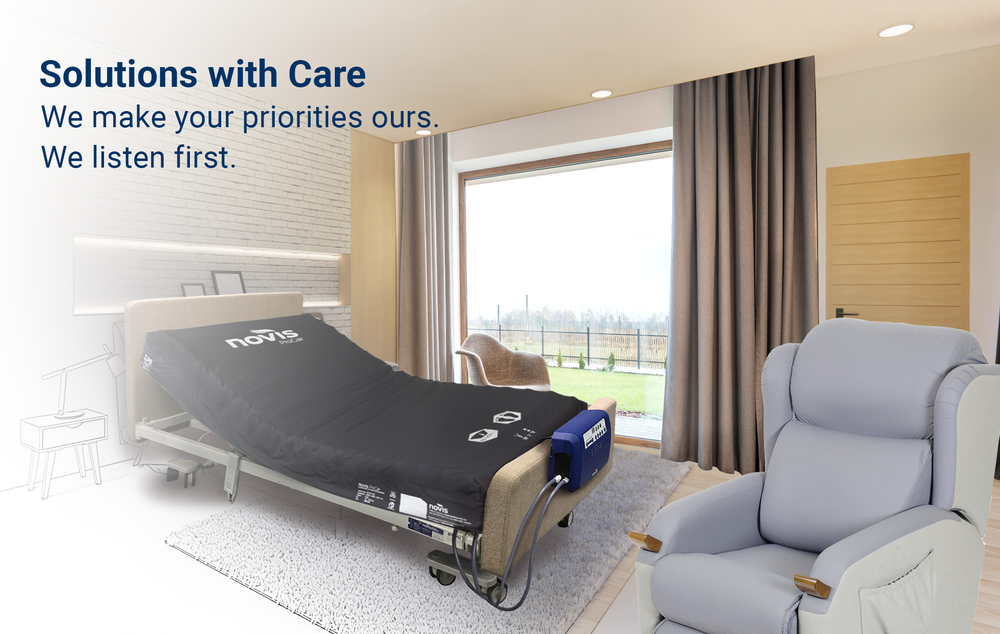 Solutions with Care. We listen first.