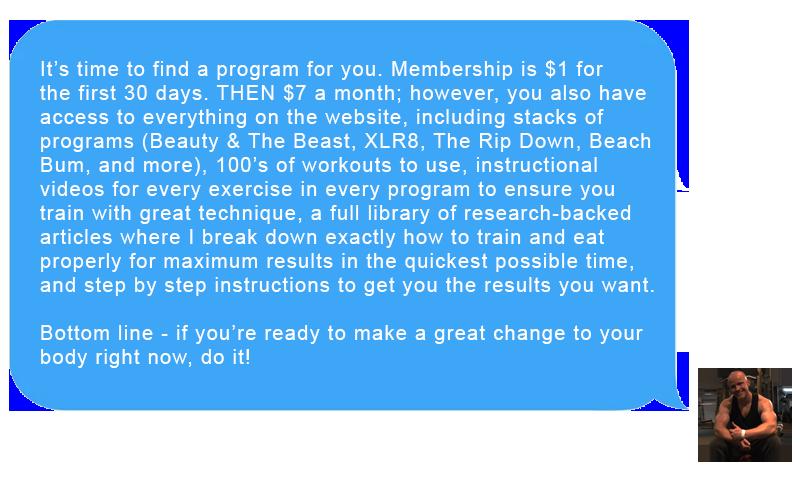 online workout plans website