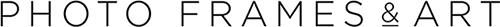 Photo Frames and Art logo