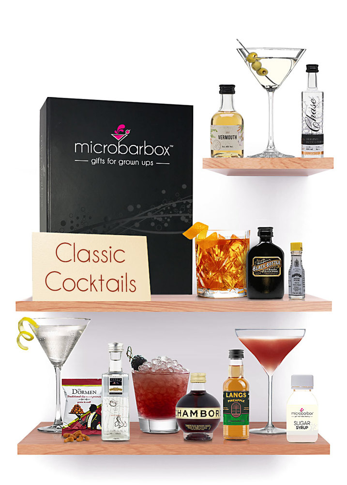 Classic Cocktail MicroBarBox