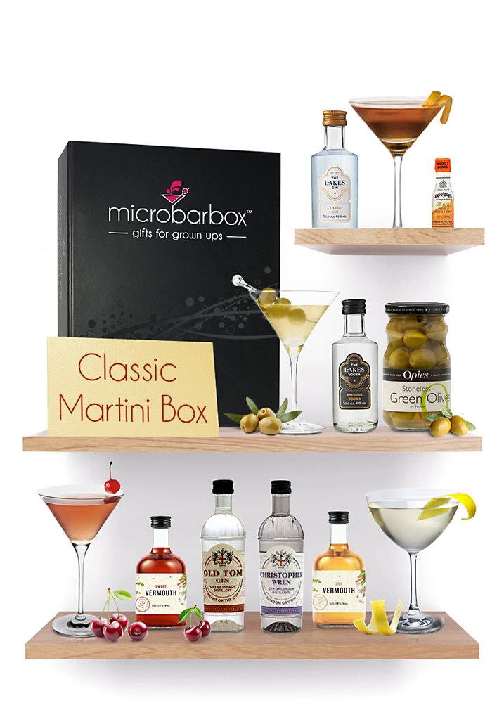 Classic Martinis MicroBarBox