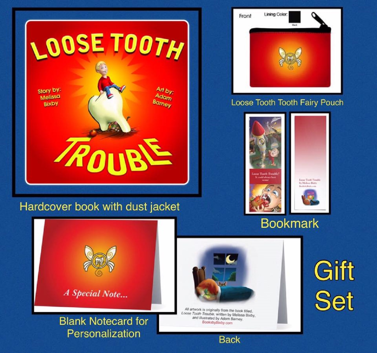 Loose Tooth-Tooth Fairy Gift Set!