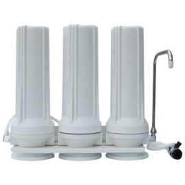Tripple stage water filter