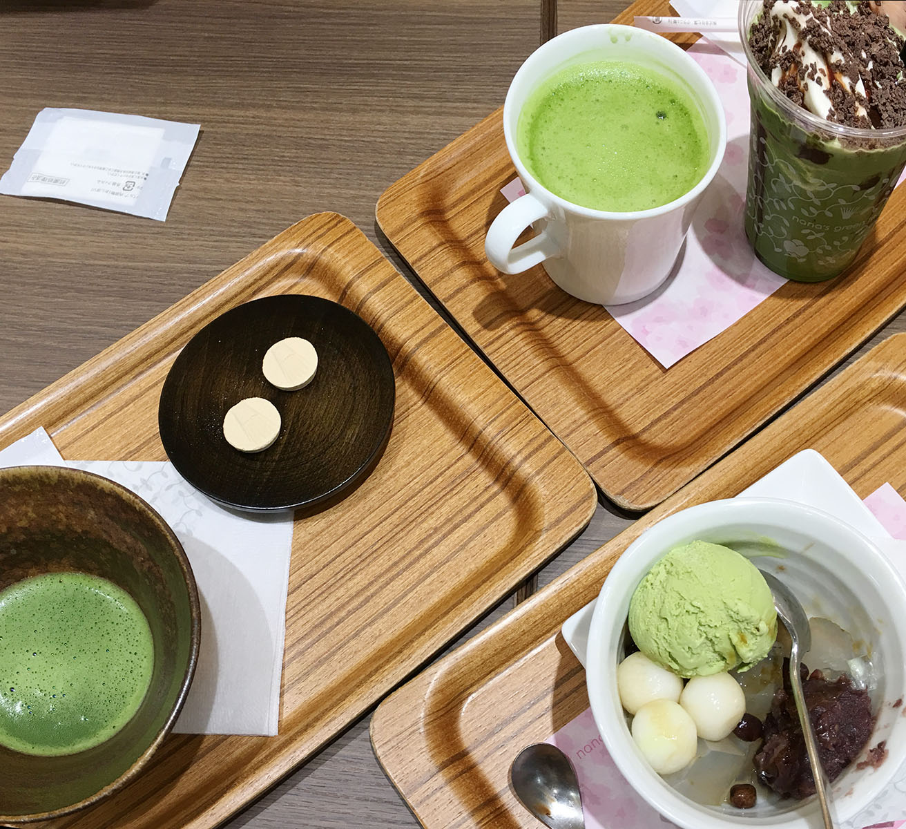 Matcha different ways