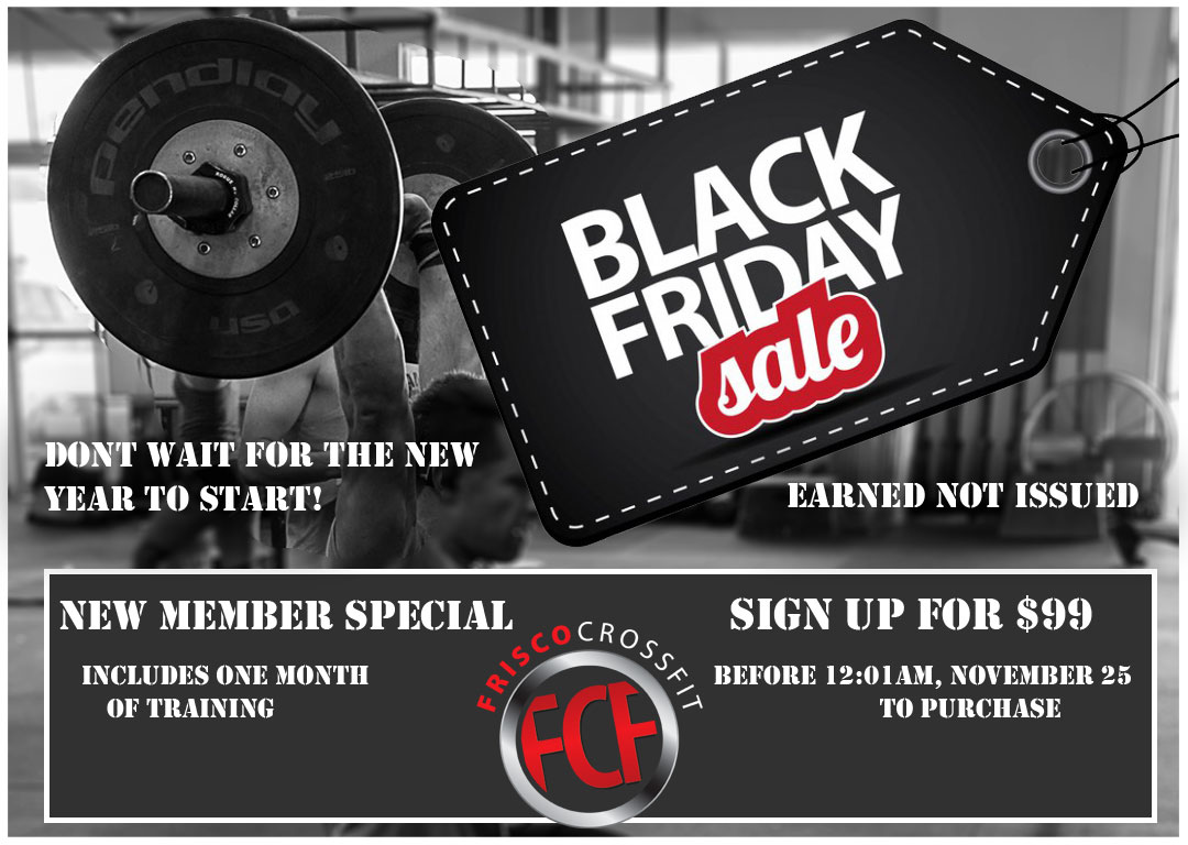 FCF Black Friday 2017