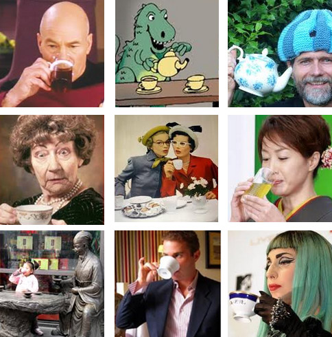 different tea drinkers