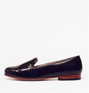 Patent Leather Smoking Shoe