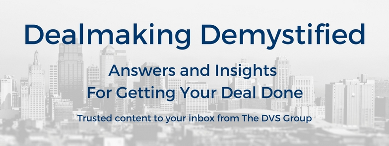 Dealmaking Demystified