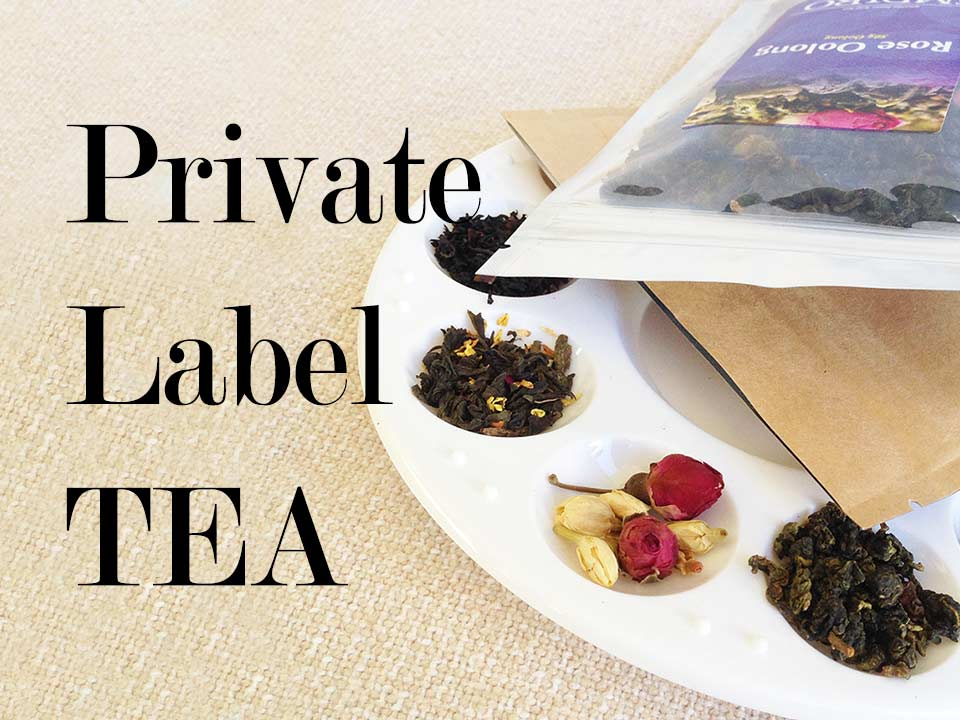 Private label tea 101 course