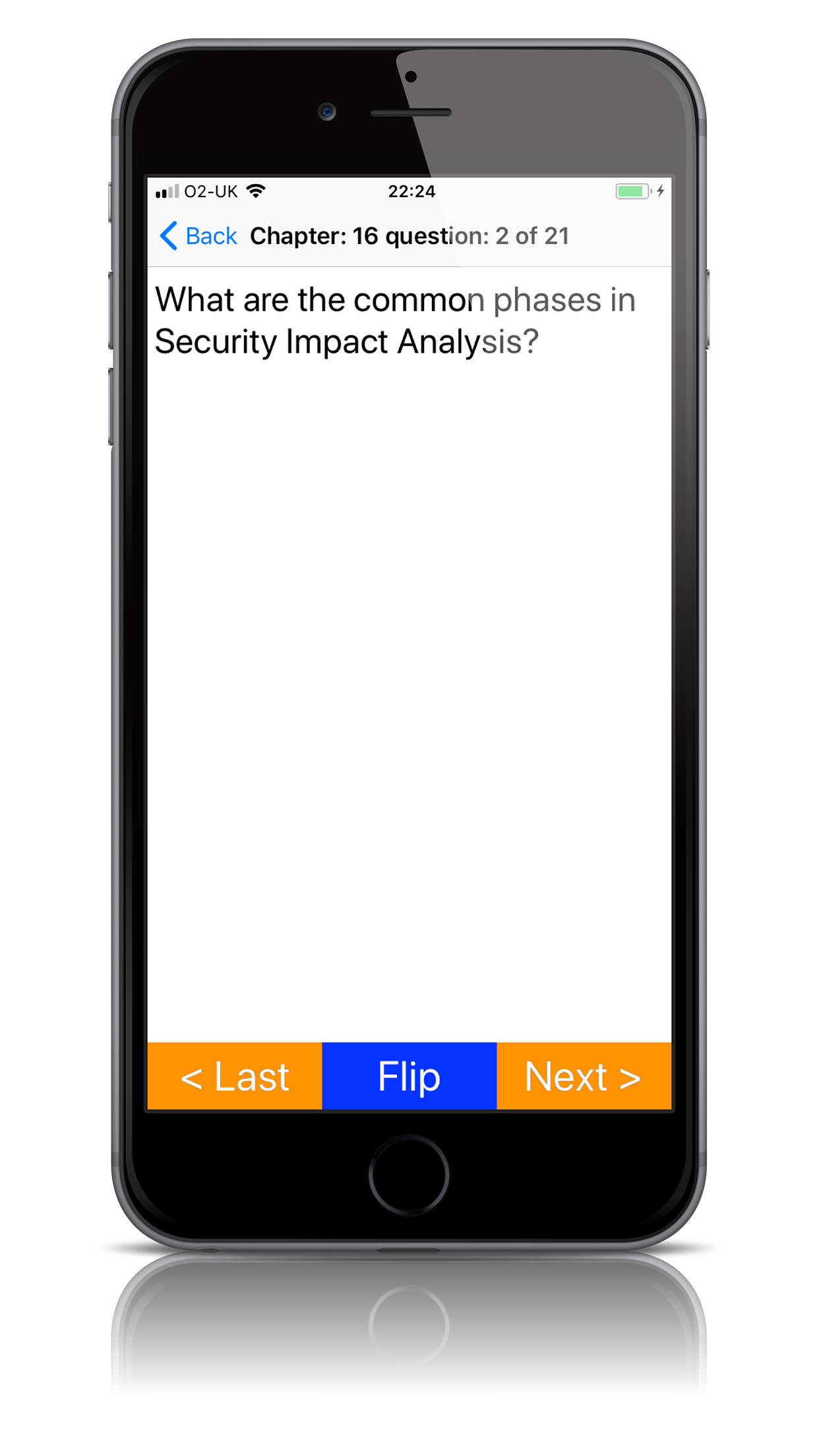 CISSP Flashcards app