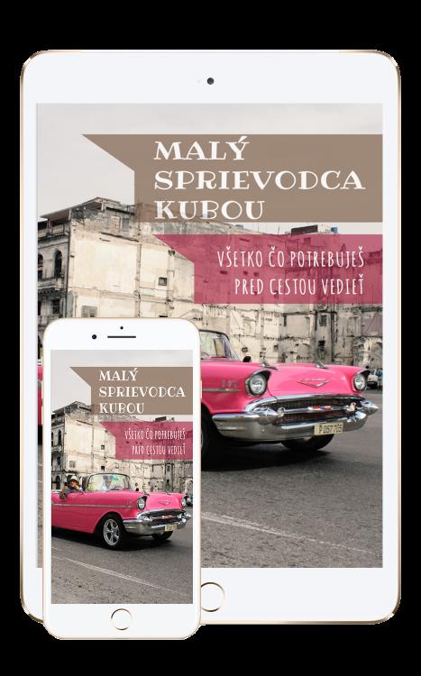 """E-book """"Malý sprievodca Kubou"""" zadarmo"""