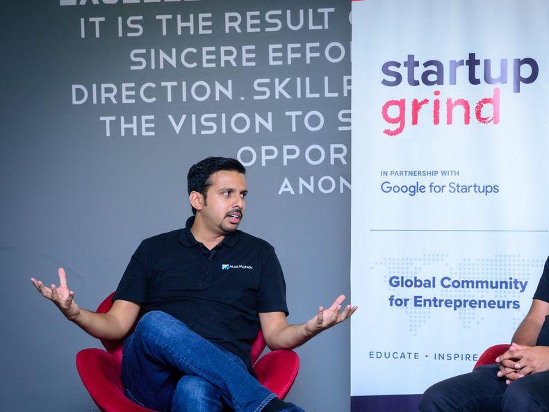 Adeel Raza at Startup Grind