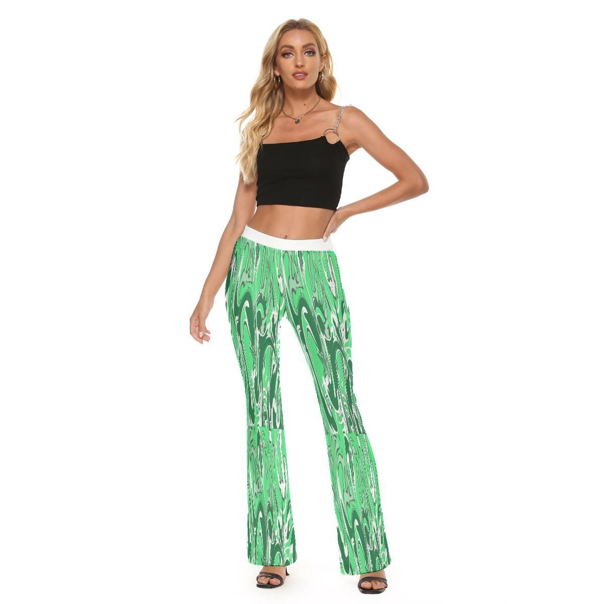 Ivy Collection Skinny Flare Pants